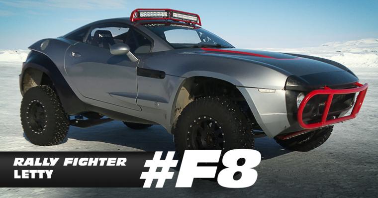 Furious 8 Rally Car