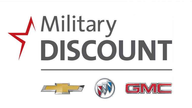 GM military discount for Chevy Buick and GMC models
