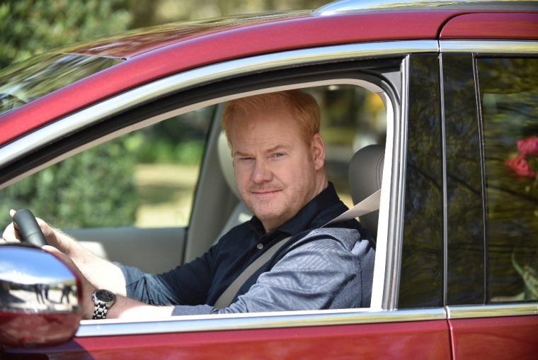 Jim Gaffigan Chrysler Pacifica