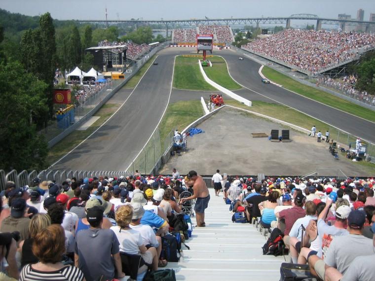 L'Epingle at the Circuit Gille Villeneuve