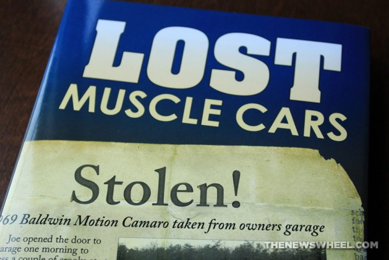 Lost Muscle Cars book review CarTech Stolen cover Wes Eisenschenk