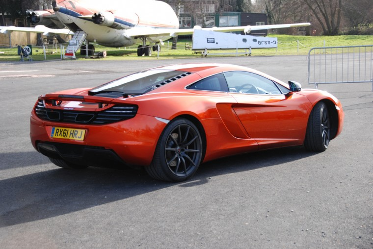 McLaren MP4-12c will.i.am celebrity rides