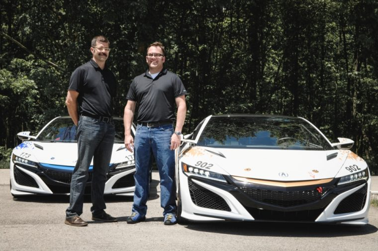 The 2017 Acura NSX will make its North American racing debut at the Broadmoor Pikes Peak International Hill Climb