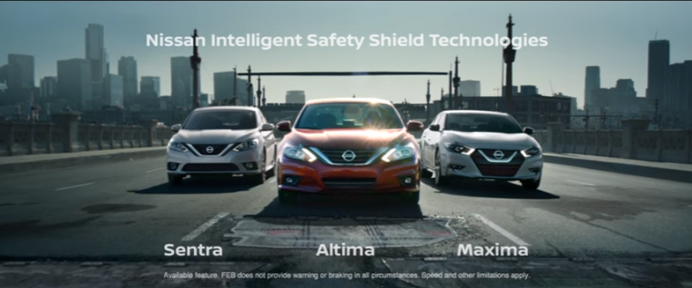 Nissan Take On Commercials