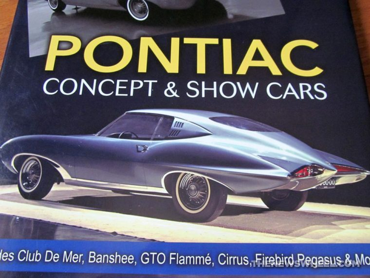 Pontiac Concept Show Cars Book By Don Keefe Cartech Review Cover