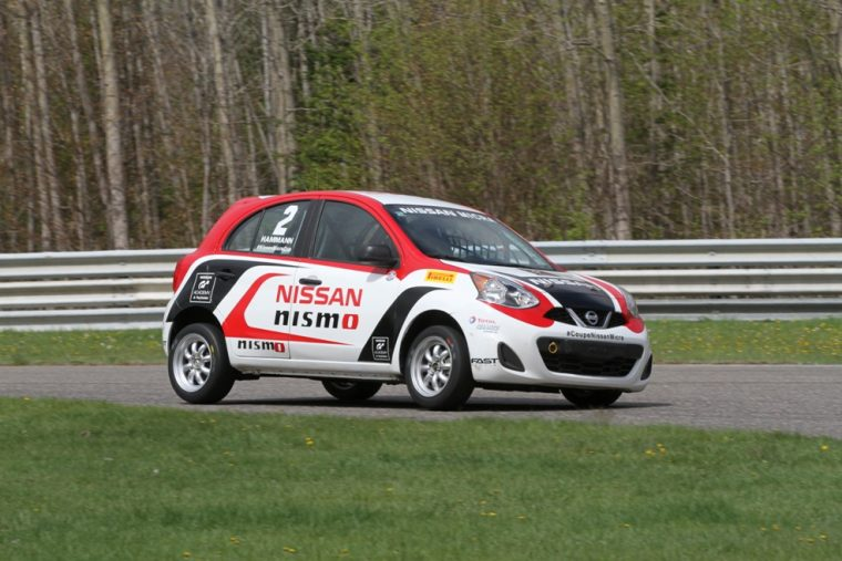 Nissan Micra Cup in Canada