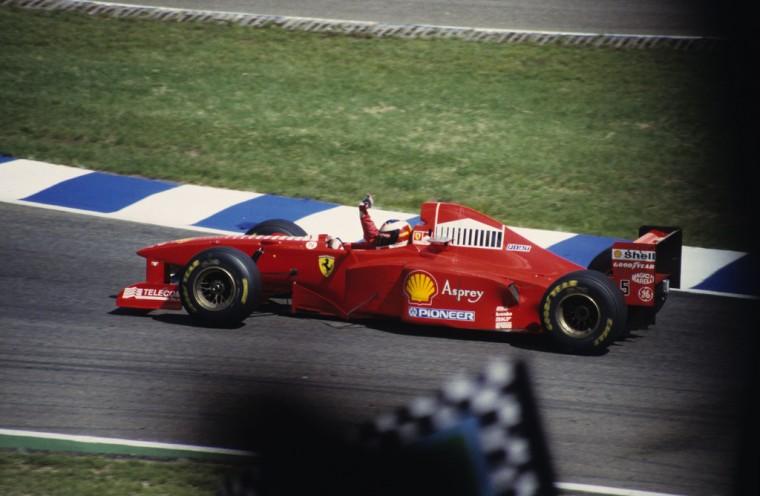 Michael Schumacher Wins 1997 German Grand Prix