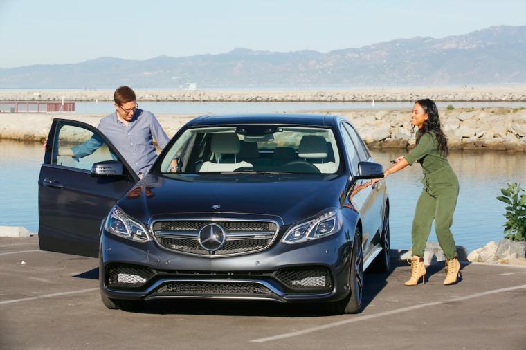 Spike Feresten matches actress Karrueche Tran with a new Mercedes