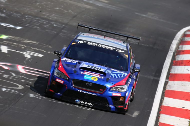 The Subaru WRX STI NBR Challenge 2016 claimed a class victory at the 2016 Nürburgring 24-Hour Race
