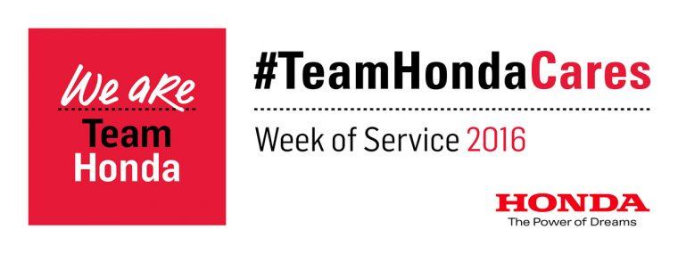Honda Kicks Off Week of Service in North America