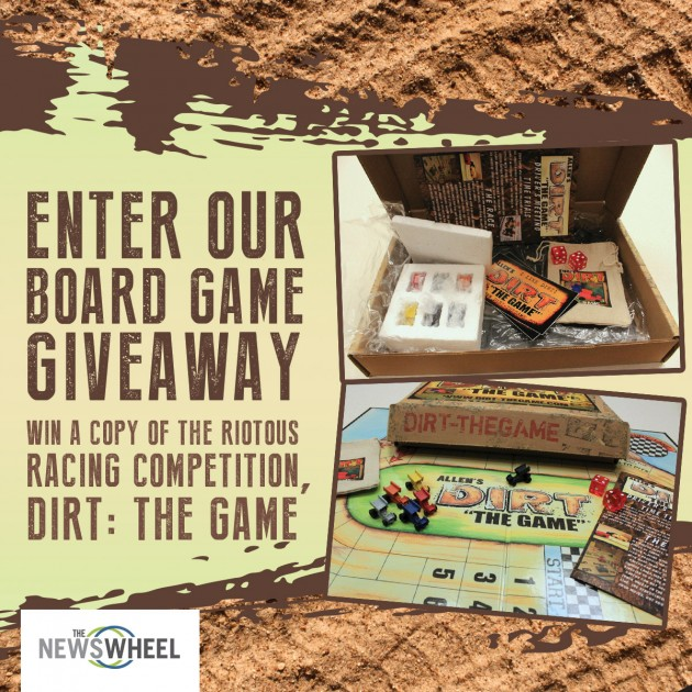 The News Wheel Allen's Dirt the Game Giveaway sidebar