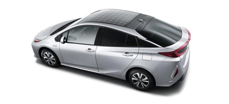 Toyota Prius Prime Solar Panels