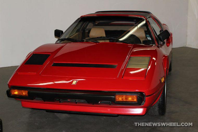 California Automobile Museum - 1985 Ferrari 308 GTSI