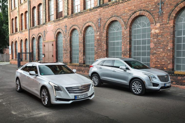 2016 Cadillac CT6 and 2017 Cadillac XT5 Berlin