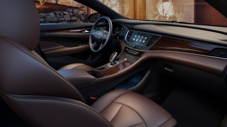The Redesigned 2017 Buick Lacrosse Comes With A V6 Engine Available All Wheel Drive