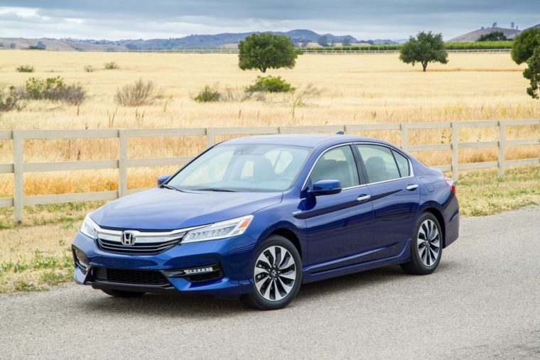 The 2017 Honda Accord Hybrid Sedan Yields Epa Estimated Fuel Economy Of 49 Mpg On