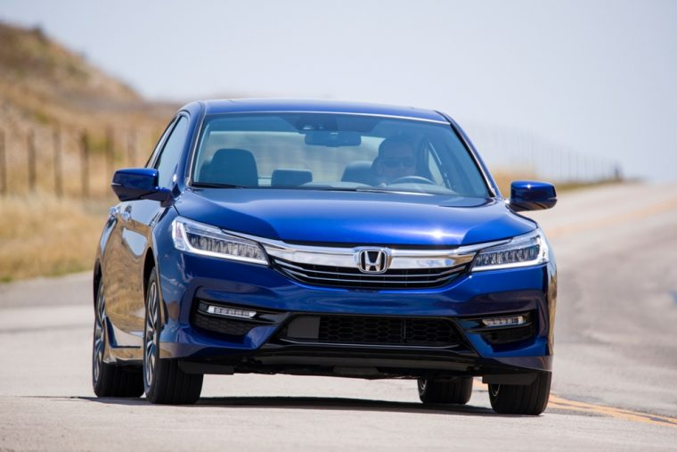 The 2017 Honda Accord Hybrid Sedan Yields Epa Estimated Fuel Economy Of 49 Mpg On