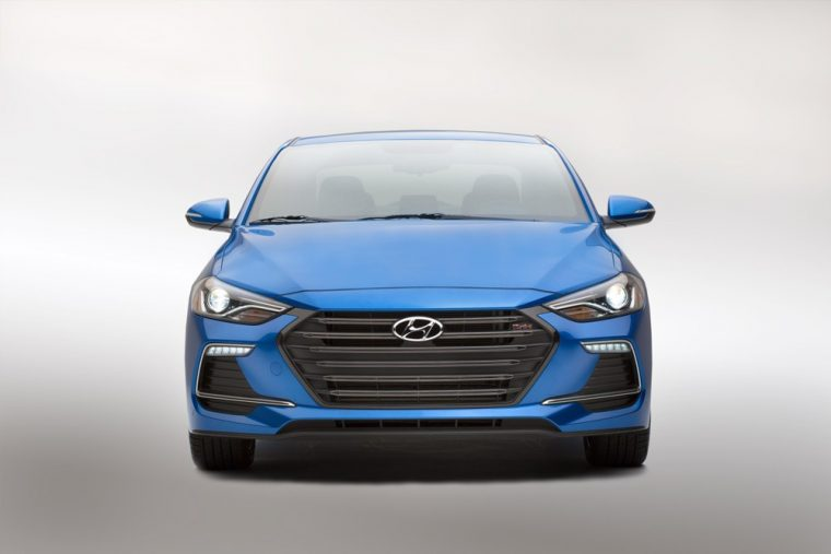The 2017 Hyundai Elantra Sport will feature a new 200-horsepower turbocharged motor and independent multi-link rear suspension