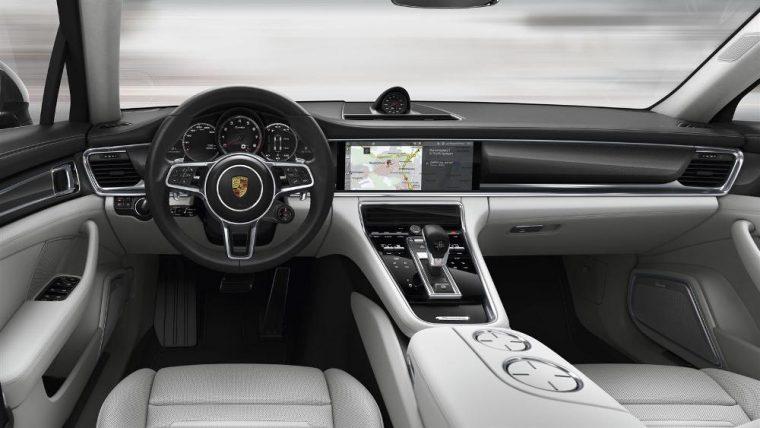 The 2017 Porsche Panamera will come with the New Porsche Communication Management (PCM)