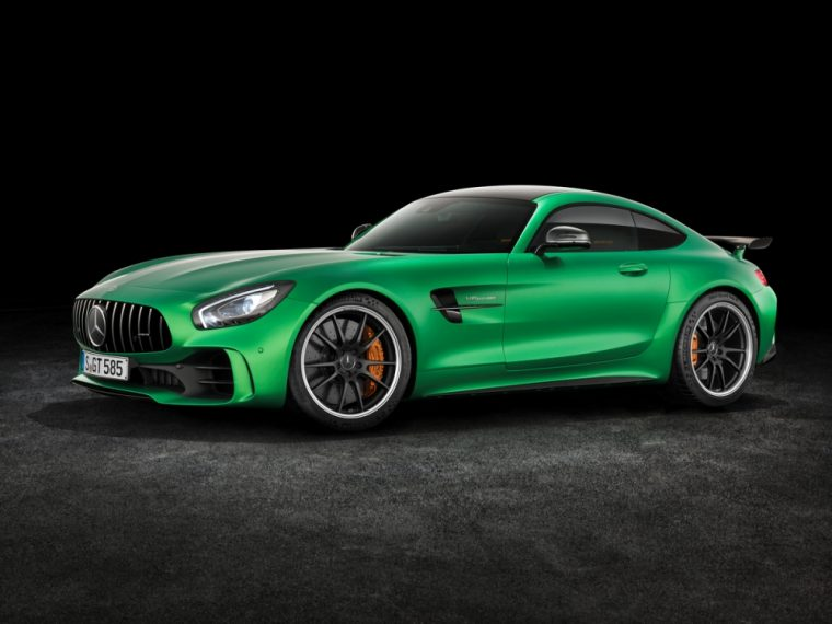 The 2018 Mercedes-AMG GT R will be released in the summer of 2017 and will come with significantly more power than the current Mercedes-AMG GT S