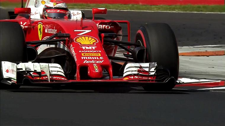 2016 Hungarian Grand Prix - Kimi's Wing