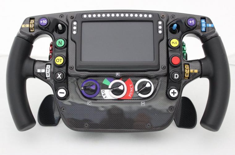 2016 McLaren Honda F1 wheel