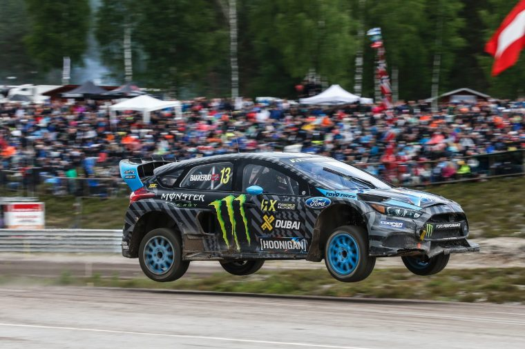 Andreas Bakkerud wins in Holjes World RX