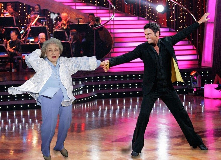 Betty White Dancing with the Stars