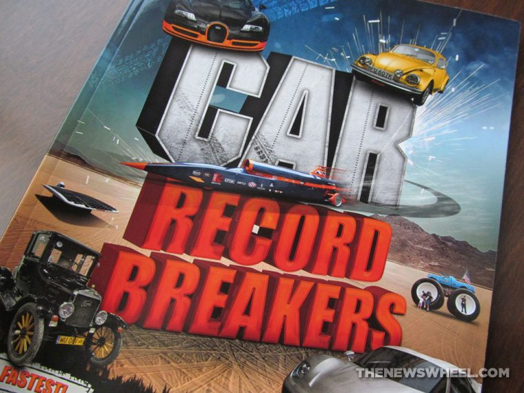 Car Record Breakers Carlton Kids book review cover