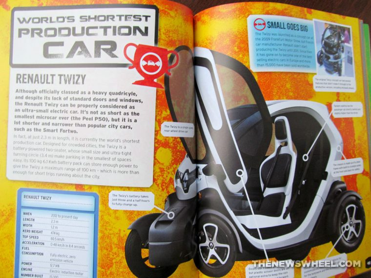Car Record Breakers Carlton Kids book review shortest