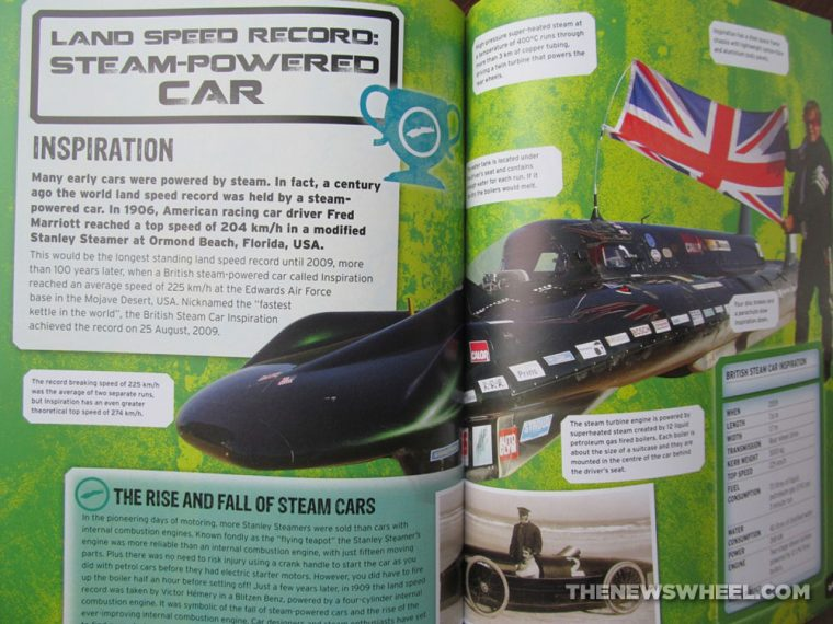 Car Record Breakers Carlton Kids book review steam