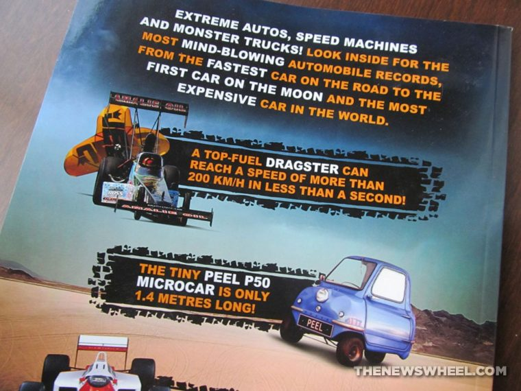 Car Record Breakers Carlton Kids book review synopsis