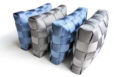 Car seat belt pillows