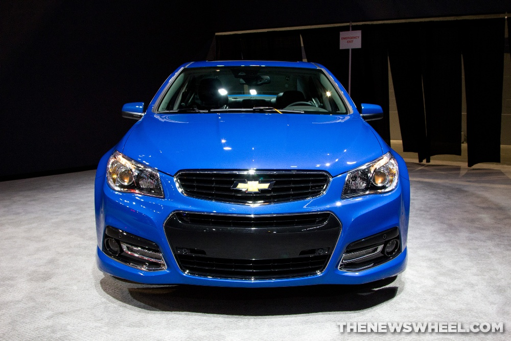 Rumor Could The 2017 Chevy SS Sedan Come With A