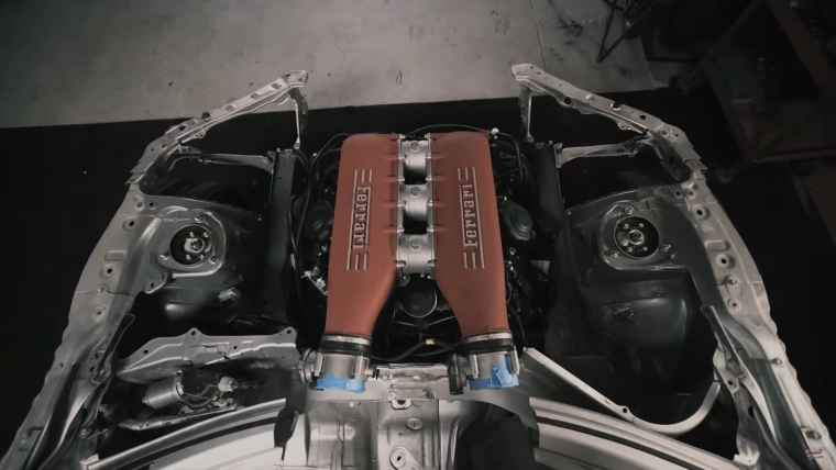 Ferrari Engine in Toyota 86