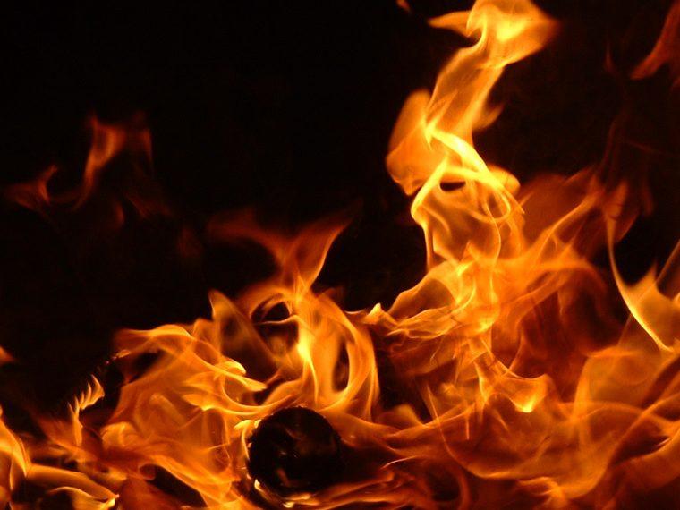 Generic flames