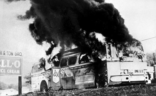 Freedom Riders Greyhound Bus