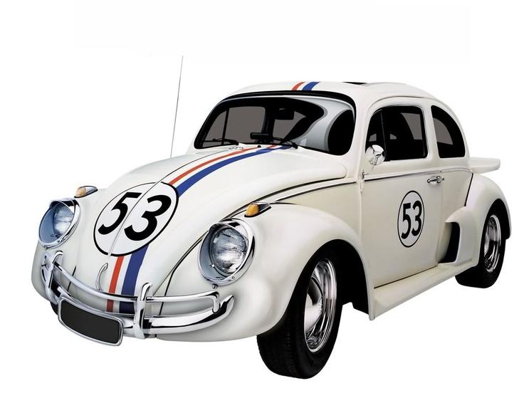 Herbie the love bug vw beetle movie car