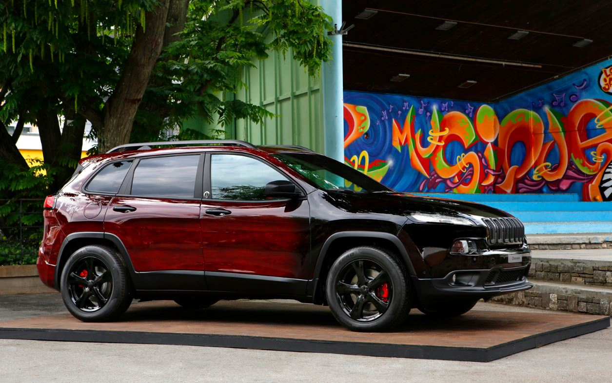 Custom Jeep Grand Cherokee >> Custom Jeeps Bring Music to Life for Montreux Jazz ...