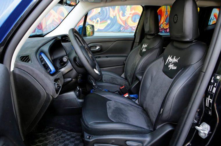 Jeep Renegade Vinyl Edition Interior
