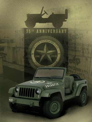 Jeep Wrangler 75th Salute Concept Vehicle