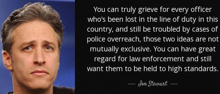 Jon Stewart Dallas Shooting Quote