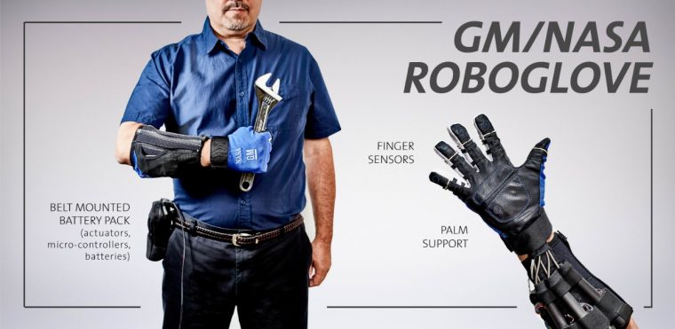 Power Glove, or RoboGlove, created by GM and NASA