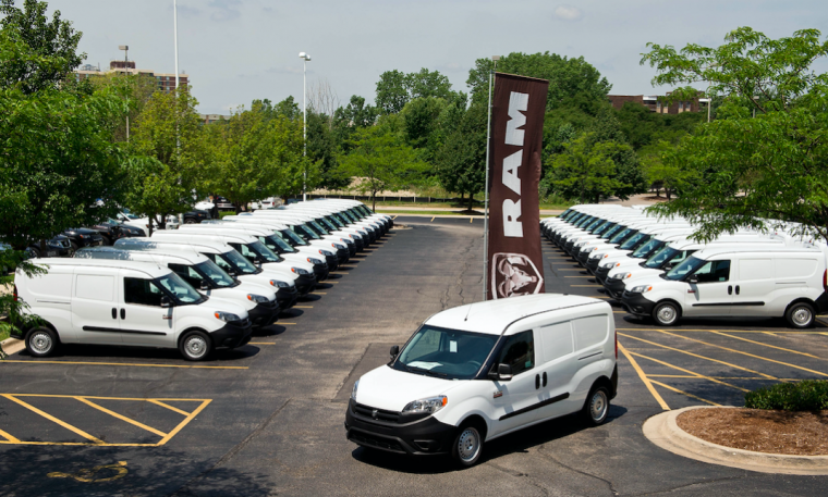 da9bbc2b41 Ram Hosts ProMaster City Van Dealer Drive-Away Event in Chicago Area ...