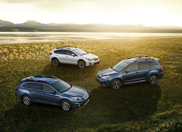 Crosstrek Vs Outback >> Subaru Outback Forester Crosstrek Sweep Ideal Vehicle