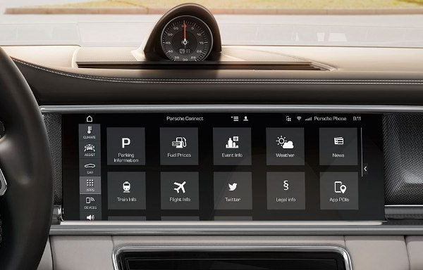 The 2017 Porsche Panamera's New Infotainment System Will