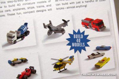 Tiny LEGO Wonders book review No Starch Press building set directions