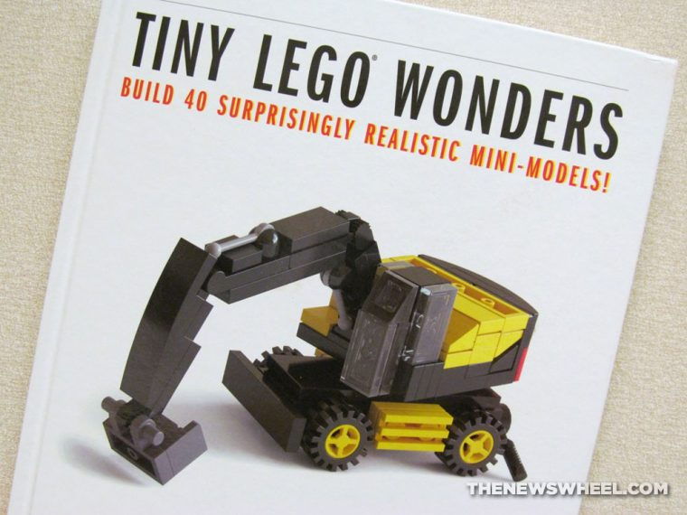 Tiny LEGO Wonders book review No Starch Press cover