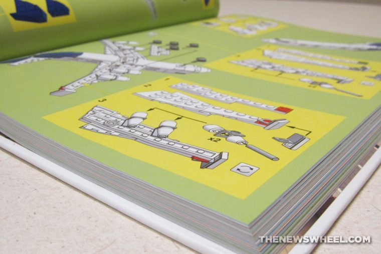 Tiny LEGO Wonders book review No Starch Press pages