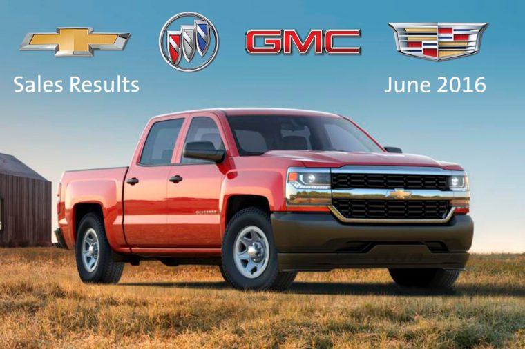 GM First Half Sales